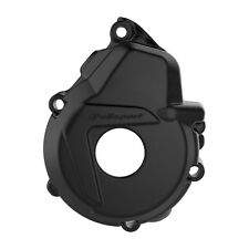 Apico Ignition cover  KTM HUSKY EXCF250 EXCF350 17-18 BLACK