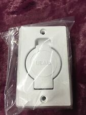 New in Original packaging-BEAM Central Vacuum Inlet Face Plate - White