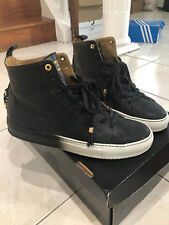 Authentic Android Homme Alfa High Black/white Sneaker size 42 US9