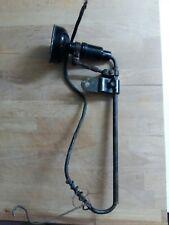 Sehr alte original SINGER Nähmaschinen Lampe - sehr selten - Antik