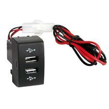 2fach Einbau-Steckdose USB-Ladegerät 12/24v 3000 mA für IVECO STRALIS EUROCARGO