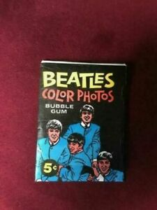 The Beatles Original 1964 Topps Trading Cards