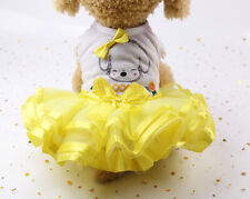 Dog Party Tutu Dress Wedding Clothes for Small Breeds Yorkshire Terrier Maltese