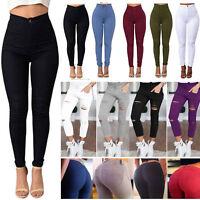 Women Skinny Jeggings Stretchy Denim Pants Casual Leggings Jeans Pencil Trousers