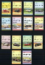 St. Vincent/Grenadinen ex 344/457 ** Autos I - III komplett u.a. BMW 328