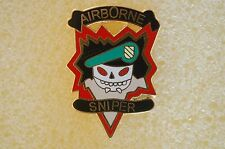 US USA Army MACV SOG Sniper Military Hat Lapel Pin