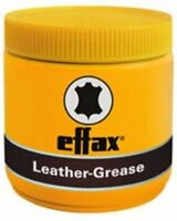Effax - Leather Grease Black or Yellow 500ml Leather Conditioner for horses
