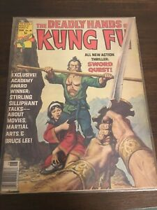 the deadly hands of kung fu #25, Bruce lee is mentioned