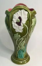 Art Nouveau French Majolica Vase from Digoin c.1880s