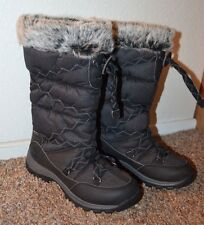 NEW ~ Timberland Women Cold Weather Boots / Mid Calf Low Heel / Size 7 m BLACK