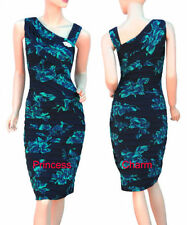 Polyester Cocktail Stretch, Bodycon Unbranded Dresses for Women