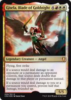 1x FOIL GISELA, BLADE OF GOLDNIGHT - Angel - Commander MTG - Magic the Gathering