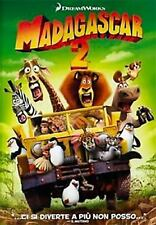DVD • Madagascar 2 Dreamworks • ITALIANO PERFETTO Gloria Alex Melman Cofanetto