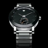 Movado Museum Sport Motion Smart Watch Bluetooth Black PVD 0660002 - NEW 2016