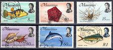 Mauritius QE II Part set to 1Rupee fine used 1969-73  [M2905]