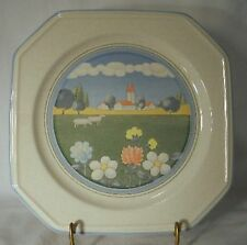 MIKASA china MEADOWS F3026 pattern Dinner Plate @ 10 1/4""
