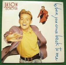 """Jason Donovan When You Come Back to Me 7"""" Single Picture Sleeve"""
