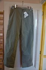 Iceberg Pants Trousers, Light Grey, 100% Cotton, Size 46IT, Made in Italy