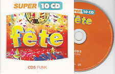 CD CARTONNE CARDSLEEVE FETE FUNK  15T DELEGATION/DELIGHT/KOOL & THE GANG/ODYSSEY