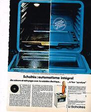 PUBLICITE ADVERTISING 014   1971   SCHOLTES    cuisinière