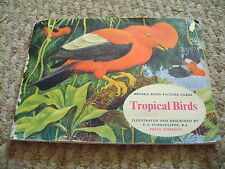 Tropical Birds Album & Cards By Brooke Bond Tea