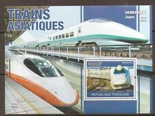 TOGO 2010 FAST TRAINS M/SHEET MNH