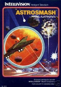 Astrosmash Intellivision Great Condition Fast Shipping