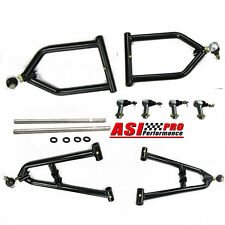 Fits Yamaha Banshee A Arms +2 +1 Fully Adjustable extended a-arms Racing Black