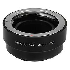 Fotodiox Pro Lens Mount Adapter for Rollei 35mm lens to Sony NEX E-Mount Came...