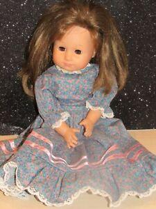 """HTF Gotz 18"""" BRUNETTE  Brown Eyes Doll  AMERICAN GIRL TYPE DRESSED LOVELY"""