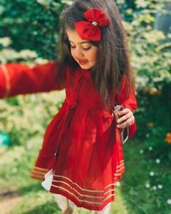 Girls pakistani baby eid DRESS indian diwali salwar kameez wedding shadi