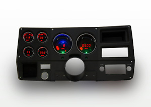 1973-1987 Chevy Truck Digital Dash Panel Red LED Gauges Lifetime Warranty
