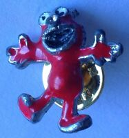 Elmo Sesame Street Small Pin Badge Cartoon Character (E6)