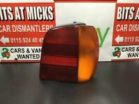 VOLKSWAGEN POLO REAR/TAIL LIGHT (DRIVER SIDE) CL 5 DOOR HATCHBACK 1994-1999
