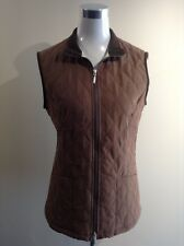 BARBOUR Shaped Matelassée women's jacket gilet UK 10 US 6 EUR 36 FR 38 (pv:125€)