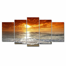 Canvas Art Print Photo Wall Home Decor Poster Landscape Seascape Beach Framed