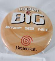 Dreamcast Dream Big Button Microsoft Sega NEC Promo Item