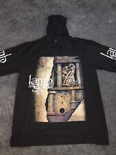 Lamb Of God -  - Black Printed Cotton Hoodie New L, XL
