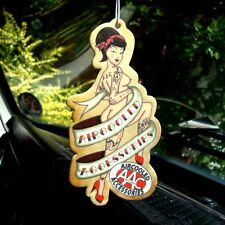 Pin Up Air Freshener AAC Aircooled Accessories VW Volkswagen boobs bum tattoos