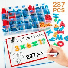 ALPHABET FRIDGE MAGNETS EARLY LETTER MAGNETIC EDUCATIONAL TOY For Baby Kids