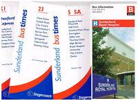 Stagecoach Busways Sunderland 4 bus timetables Doxford Hospital University 07-12