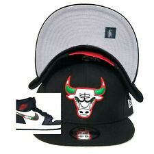New Era Chicago Bulls snapback hat Jordan 1 illustrated