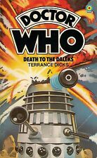 DOCTOR WHO<>DEATH TO THE DALEKS by TERRANCE DICKS<>3rd DOCTOR<>TARGET PAPERBACK