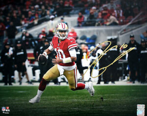Jimmy Garoppolo Signed San Francisco 49ers Super Bowl LIV 16x20 Photo - TRISTAR