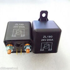 1pc New DC 24V 200A Heavy Duty Split Charge ON/OFF Relay Car Truck Boat