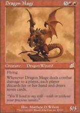 MTG-1x-Moderate Play, English-Dragon Mage-Scourge