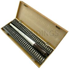 UK Ring finger sizer measure gauge all British sizes A-Z+6 Wooden set kit tool