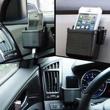 Car Auto Storage Case Box Cell Phone Charger Cradle Holder Pocket Bag Organizer