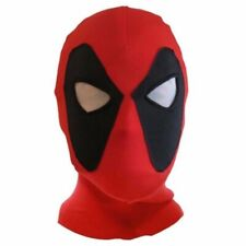 Deadpool Mask Cosplay Halloween Costume Lycra Spandex Mask Red/Black Adult sizes