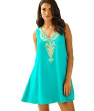 173905943cfd60 NWOT Lilly Pulitzer Agate Green Owen Trapeze Dress - Size Small